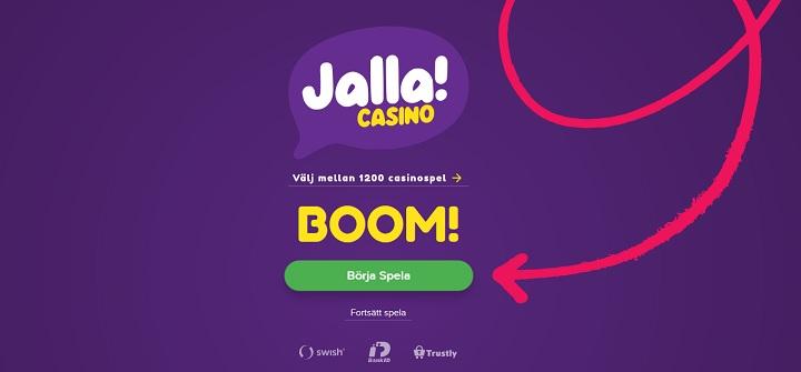 Jalla Casino - Nytt svenskt casino 2020